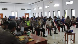 Polres Kep. Selayar Laksanakan Penyuluhan Hukum Kepada Personil Terkait Menjelang Pilkada