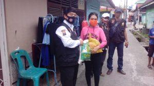 Tim Pokdar Kamtibmas Resor Medan Salurkan Bantuan Kepada Penderita Penyakit Kulit