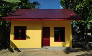 Desa Mahato Tambut Rohul Mendapatkan 10 Unit RSLH T.A 2020