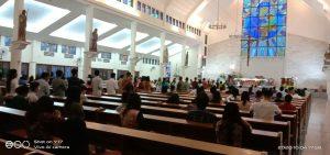Missa Umat Katolik MBPA Pada Masa Pandemi Virus Corona