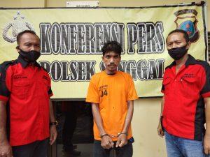 Polsek Sunggal Medan Tangkap Pelaku Penyalahgunaan Narkotika Jenis Sabu-sabu