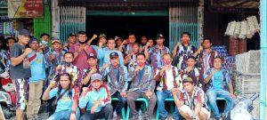 Wujud Kerja Nyata Di Hari Sumpah Pemuda, Satgas IPK Dan PAC Medan Helvetia Kompak Bergotong Royong
