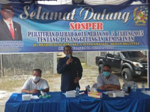 Anggota DPRD Medan, Antonius D Tumanggor Sosperda Tentang Penanggulangan Kemiskinan
