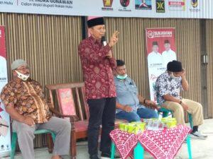 Kampanye Dialogis 'SUKAWAN' oleh Cawabup Indra Gunawan di Tambusai Utara