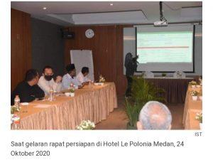 KPU Pakpak Bharat Laksanakan Persiapan Materi Debat Publik Paslon Bupati Dan Wakil Bupati