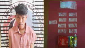 Satresnarkoba Polres Tulang Bawang Tangkap Pemuda Yang Edarkan Narkotika