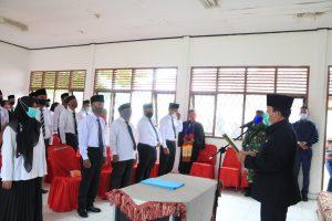 Bupati Lantik 51 Anggota BPD Kecamatan Tambusai, Sebagai Mitra Membangun Desa