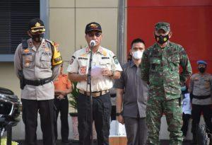 Sekda Muba Pimpin Apel Gelar Pasukan Operasi Lilin Nataru Tahun 2020
