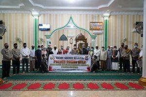 Kapolres Rohul AKBP Taufiq LN ,S.IK Lakukan Giat Suling Di Negeri Seribu Suluk