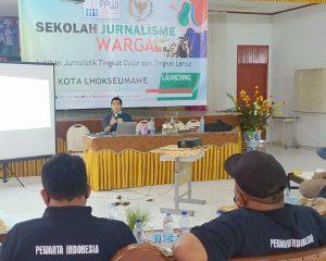 PPWI Kota Lhokseumawe Gelar Kegiatan Sekolah Jurnalisme Warga