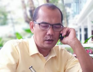 Kunker Antonius Tumanggor ke Kantor Dinas PU Medan