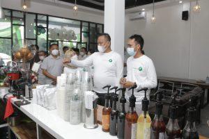 Wabup Pringsewu Resmikan Balik Bukit Coffee Dan Dinning