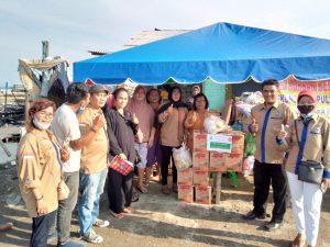 Berbagi Sedekah Di Bulan Penuh Berkah Forum Medan Bersatu Bagikan sembako Di 6 Kecamatan Di Medan