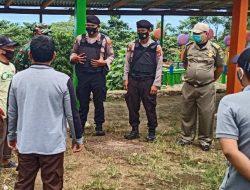 Sat Sabhara, Polsek Kota Agung dan Koramil Dampingi Pol PP Tutup Empat Tempat Wisata