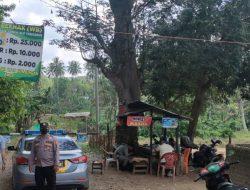 Polsek Talang Padang Dampingi Pol PP Tutup Wisata Way Bekhak