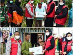 Ketua BK3S Batubara Salurkan Bantuan PT. Multimas Nabati Asahan