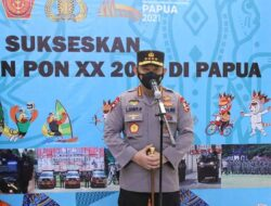 Tinjau Kesiapan Pembukaan PON XX Papua, Kapolri Pastikan Pengamanan Berjalan Baik