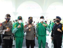 7 personil Poldasu ikut memperkuat Provinsi Sumut dalam PON XX Papua