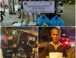 Aksi Sosial Komunitas Berbagi Nasi Medan