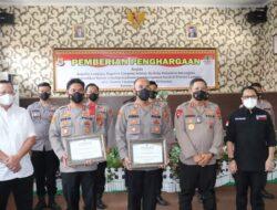 KLHK-RI Berikan Penghargaan Kepada Kapolda Lampung, Kapolres Lamsel dan KSKP Bakauheni