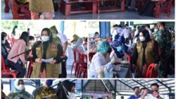 Bupati  Bengkalis Membuka Secara Resmi Vaksinasi Kompak Sebanyak 5000 Dosis di Tiga Kecamatan