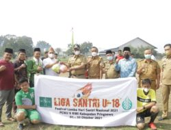 Kick Off Liga Santri U-18 Diwarnai Adu Penalti