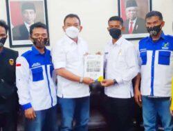 PMKM Prima Indonesia DPC Kota Medan Silaturahmi Bersama Dirut PD Pasar Kota Medan