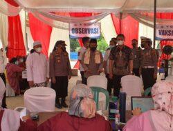 Wakapolda Lampung Tinjau Vaksin Pesantren Darul Fattah Way Bungur