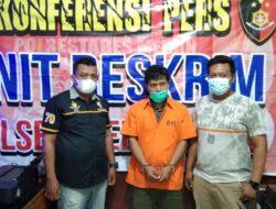 Team Reskrim Polsek Medan Baru Amankan Tersangka Pencurian