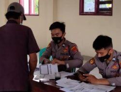 Selama Dua Hari, Polres Tanggamus Dibantu Nakes dan Relawan Suntikan 2719 Dosis Vaksin