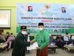 Buka PKPNU Angkatan I Wabup Rohul Harap Melalui Pendidikan Ciptakan Kader NU Berkarakteristik dan Militan