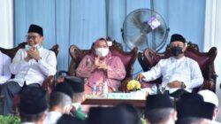 Bupati Kasmarni Hadiri Peringatan Maulid Nabi Muhammad SAW 1443 H di Masjid Arafah Duri