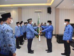Pelantikan DP-KORPRI Kabupaten Batubara Masa Bakti 2021-2026