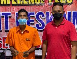 Team Reskrim Polsek Medan Baru Amankan Tersangka Pengguna Narkotika Jenis Sabu-sabu