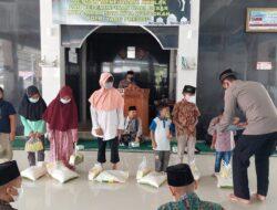 Peringati Maulid Nabi Muhammad SAW, Polres Tanggamus Santuni Anak Yatim dan Keluarga Prasejahtera