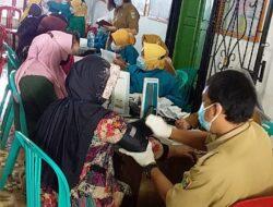 Pekon Sukabanjar Kecamatan Kota Agung Timur Adakan Vaksinasi Tahap Pertama